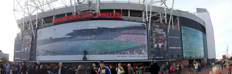 Seating view for Old Trafford Section Outside