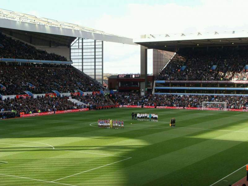 Seating view for Villa Park