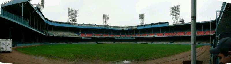 Seating view for Old Tiger Stadium Section Lower Bleacher