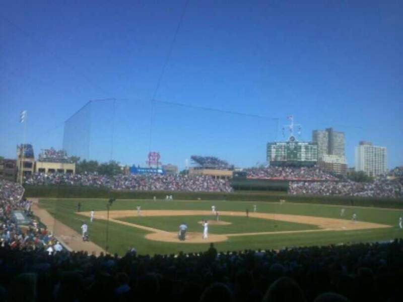 Seating view for Wrigley Field Section 222 Row 20 Seat 103