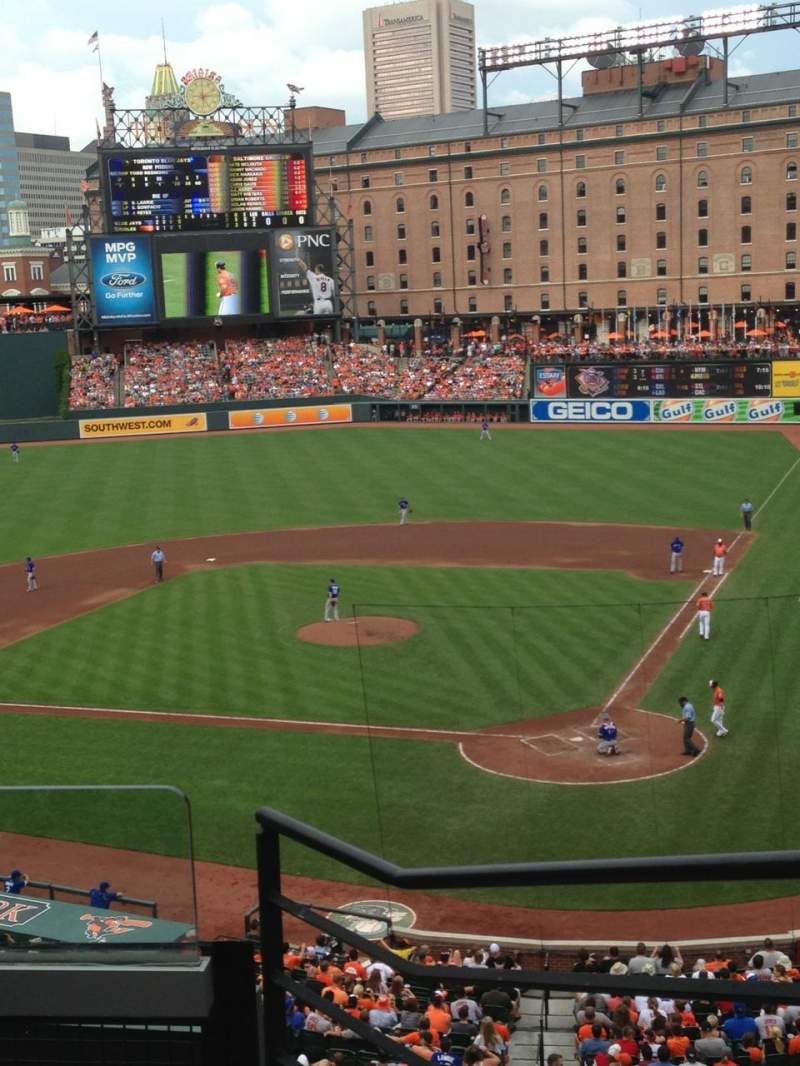 Seating view for Oriole Park at Camden Yards Section 242 Row 4 Seat 3