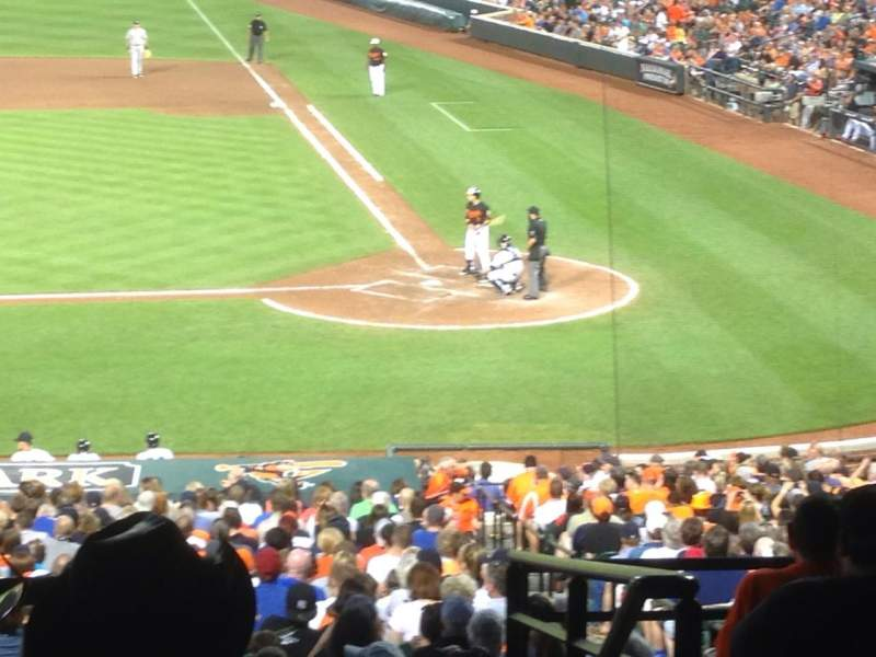 Seating view for Oriole Park at Camden Yards Section 47 Row 10 Seat 14