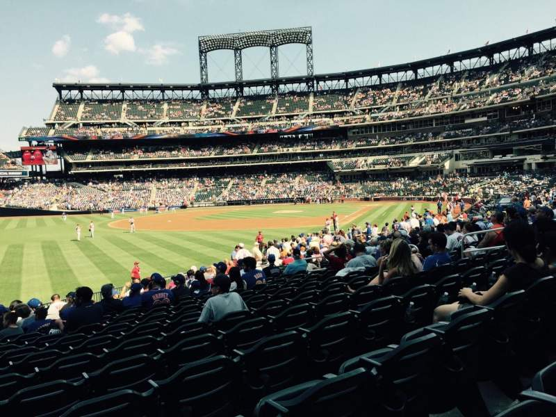 Seating view for Citi Field Section 129 Row 20 Seat 16