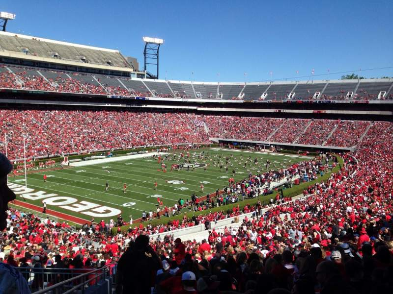 Sanford Stadium, section: 137, row: 60, seat: 28