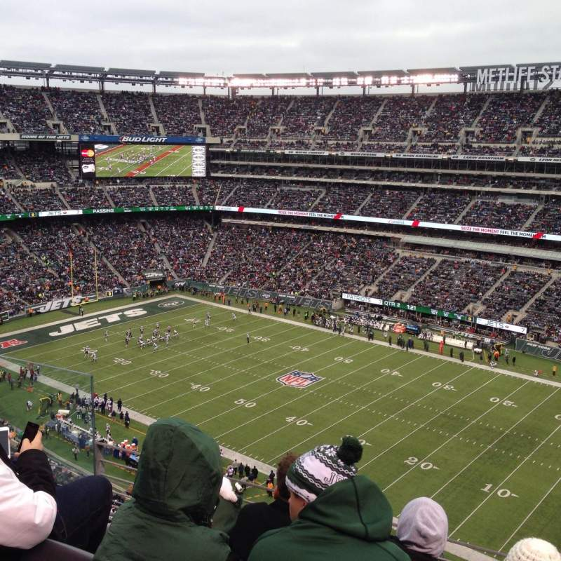 Seating view for MetLife Stadium Section 334 Row 8 Seat 14