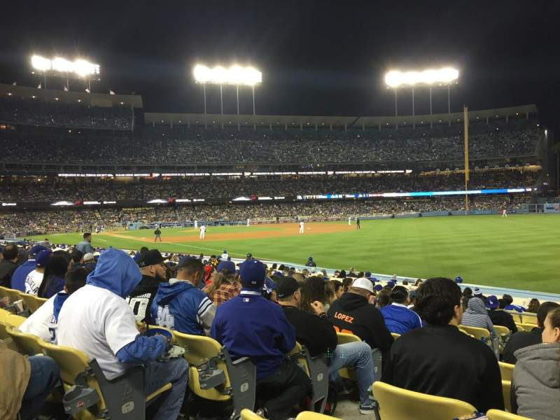 Seating view for Dodger Stadium Section 46fd Row N Seat 3