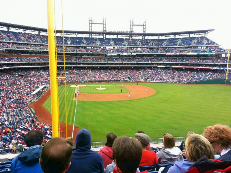 Seating view for Citizens Bank Park Section 205 Row 8 Seat 12