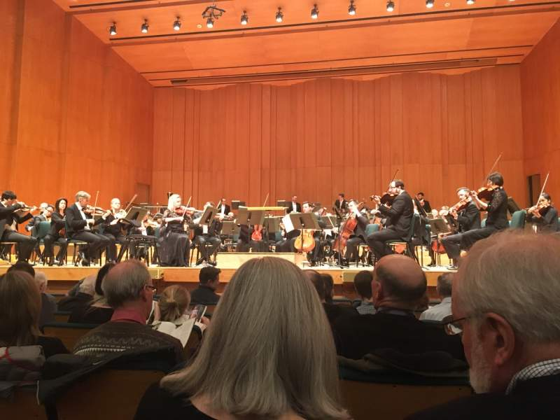 Seating view for Abravanel Hall Section R-OR Row 7 Seat 7