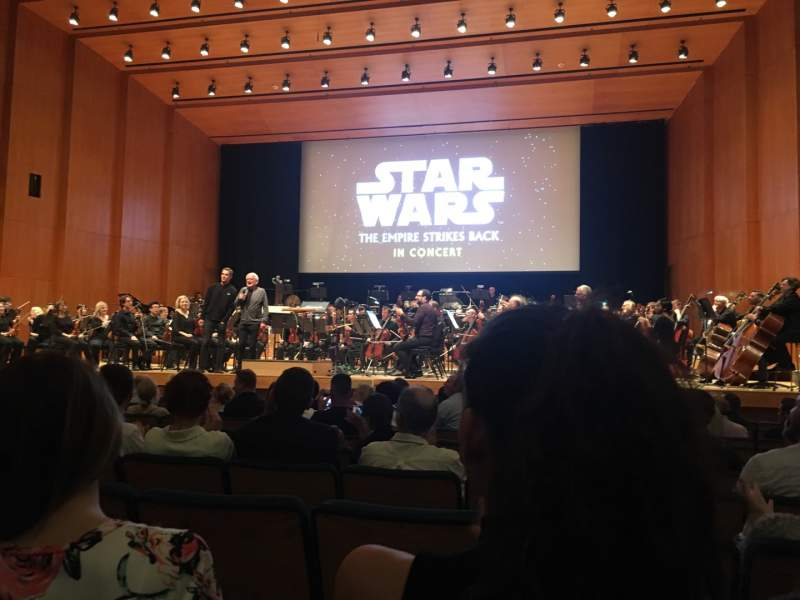 Seating view for Abravanel Hall Section Orch right Row 10 Seat 21