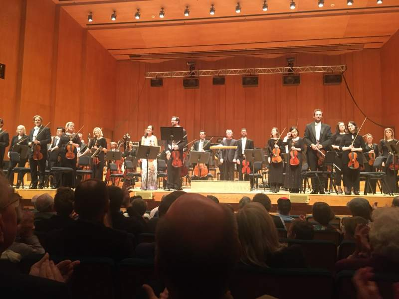 Seating view for Abravanel Hall Section OR Row 7 Seat 5