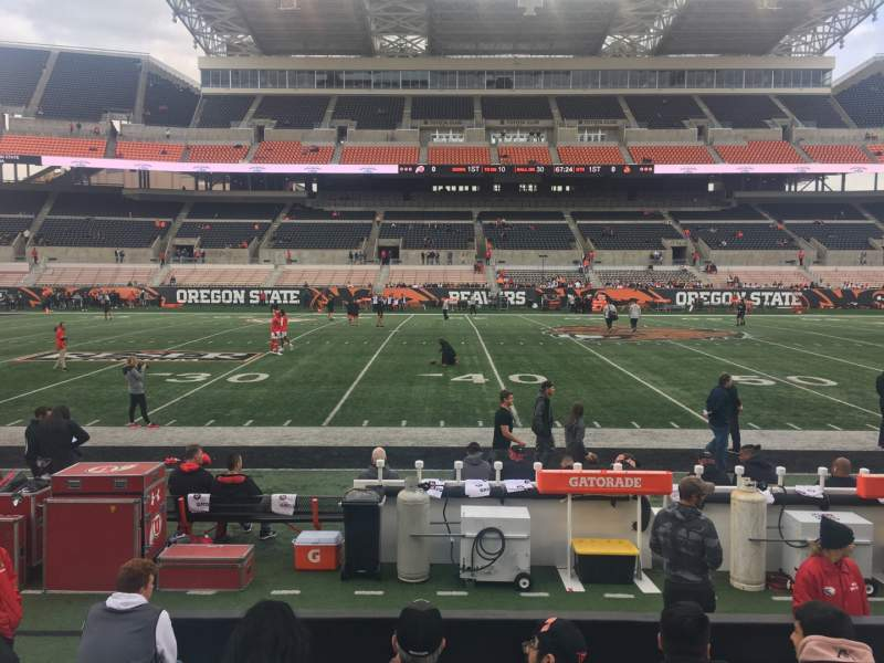 Seating view for Reser Stadium Section 12 Row 7 Seat 11