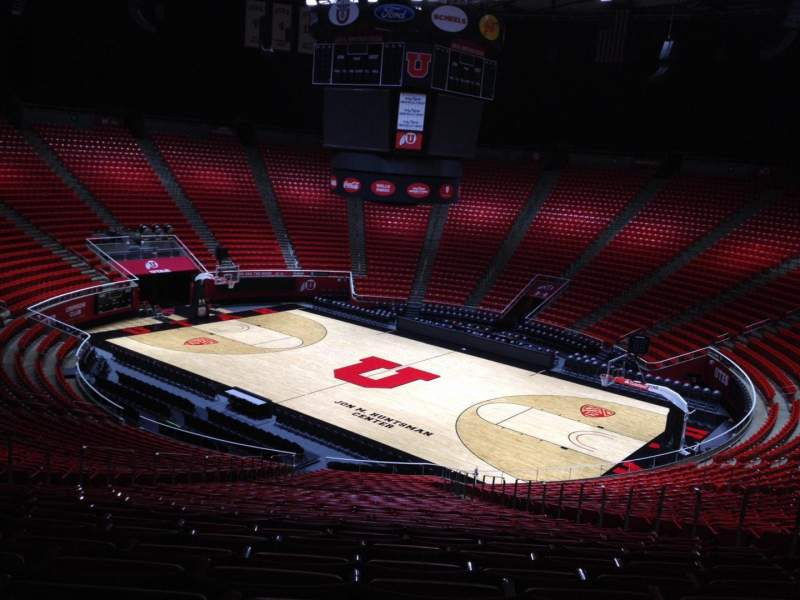 Seating view for Jon M. Huntsman Center Section X Row 31 Seat 10