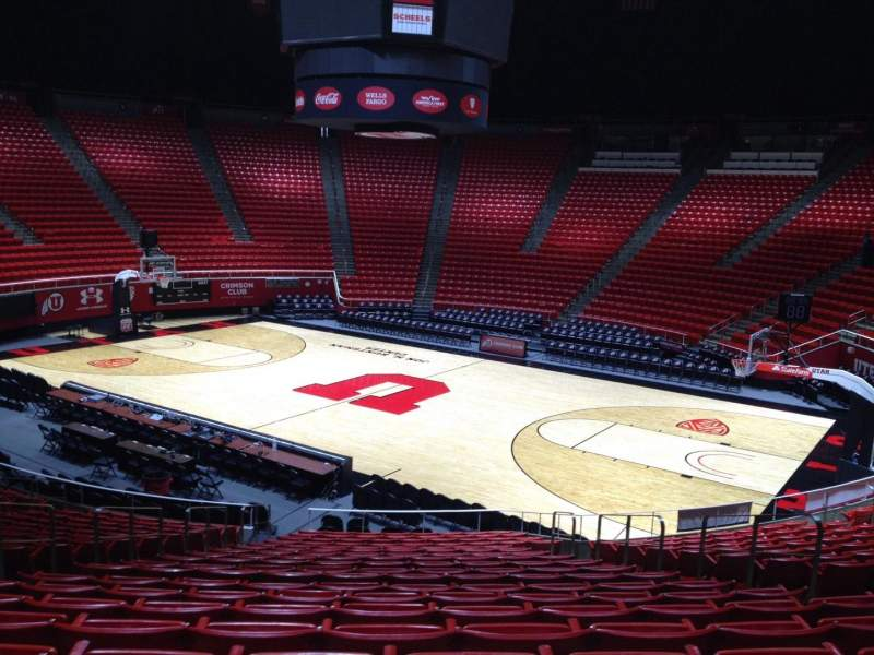 Seating view for Jon M. Huntsman Center Section K Row 19 Seat 7