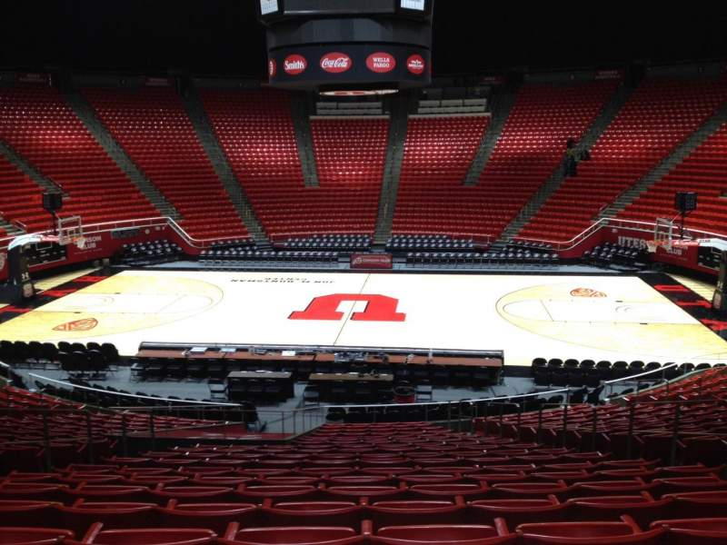 Seating view for Jon M. Huntsman Center Section M Row 19 Seat 7