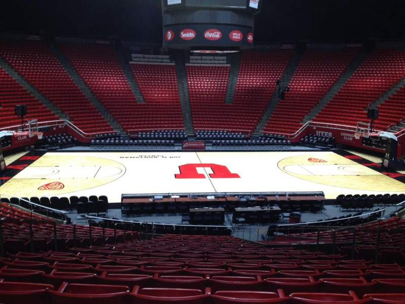 Seating view for Jon M. Huntsman Center Section N Row 19 Seat 7