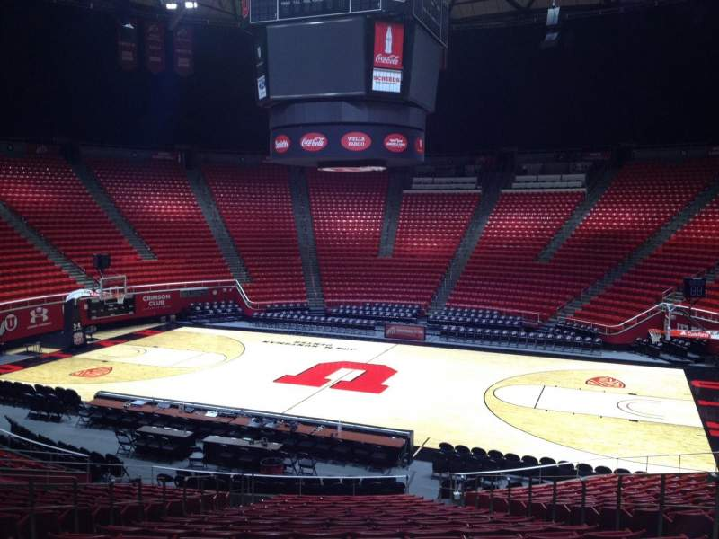 Seating view for Jon M. Huntsman Center Section L Row 19 Seat 7