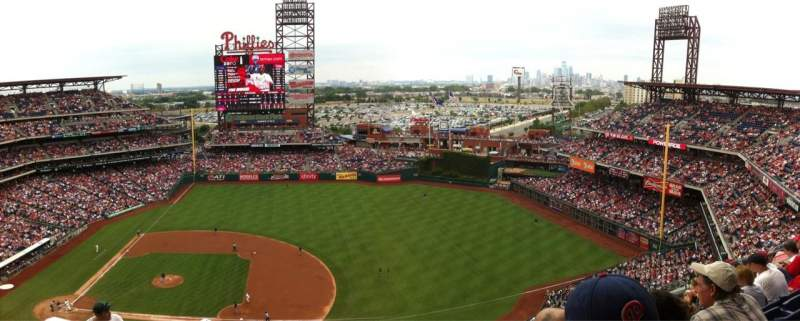 Seating view for Citizens Bank Park Section 414 Row 12 Seat 18