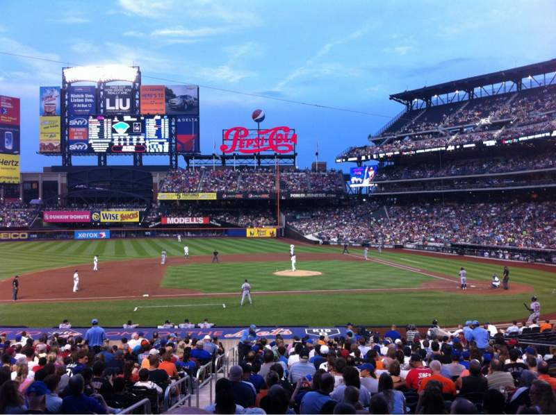 Seating view for Citi Field Section 121 Row 26 Seat 16