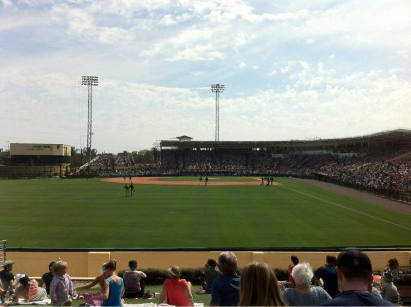 Seating view for Joker Marchant Stadium Section Berm