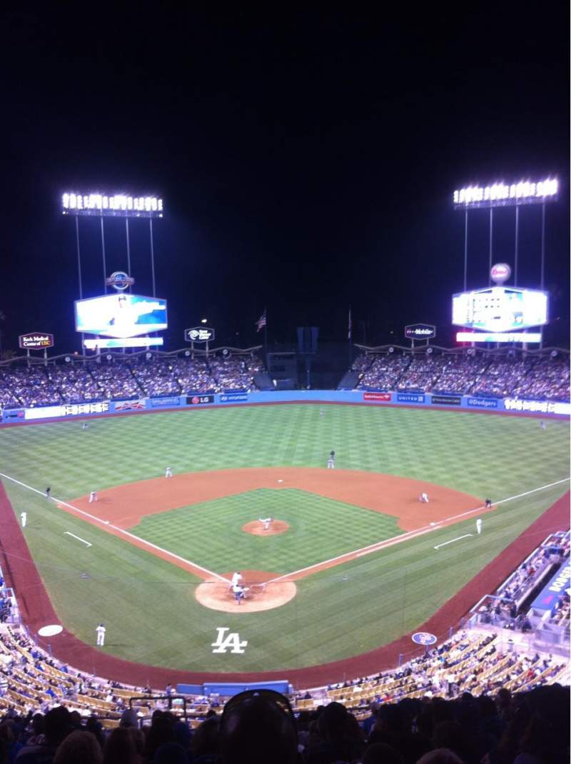 Seating view for Dodger Stadium Section 2RS Row S Seat 4