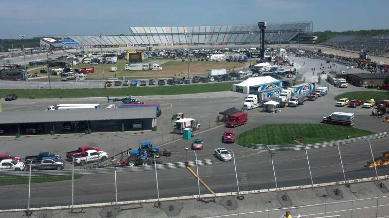 Seating view for Dover International Speedway Section 134 Row 25