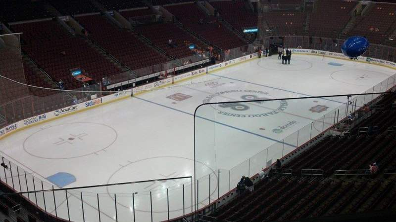 Seating view for Wells Fargo Center Section 209a Row 2 Seat 14