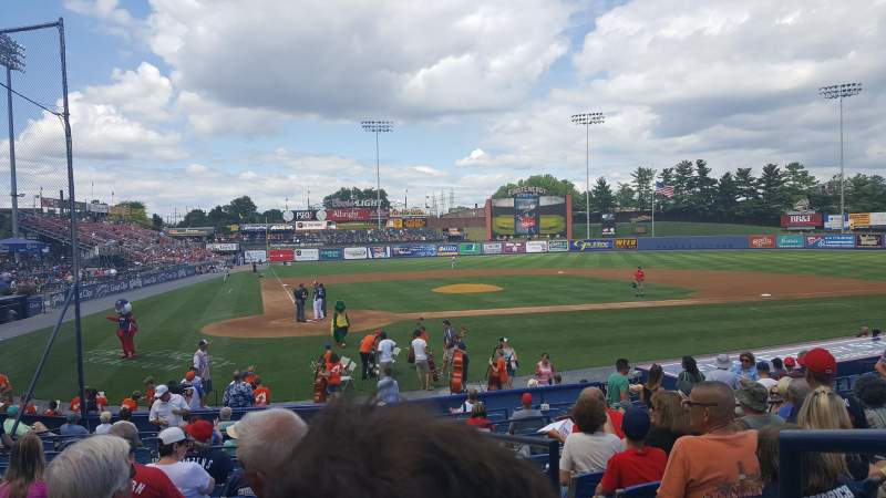 Seating view for FirstEnergy Stadium (Reading) Section Blue