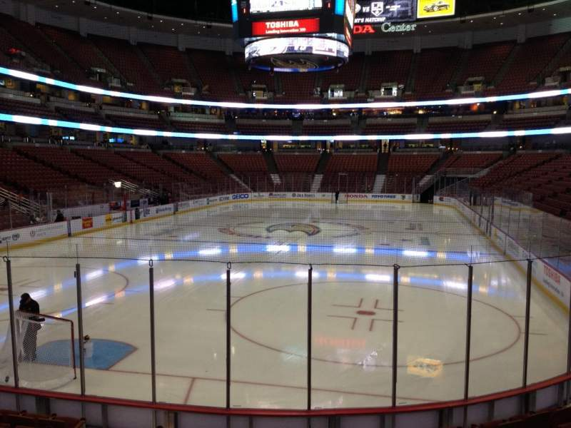 Seating view for Honda Center Section 228 Row K Seat 5