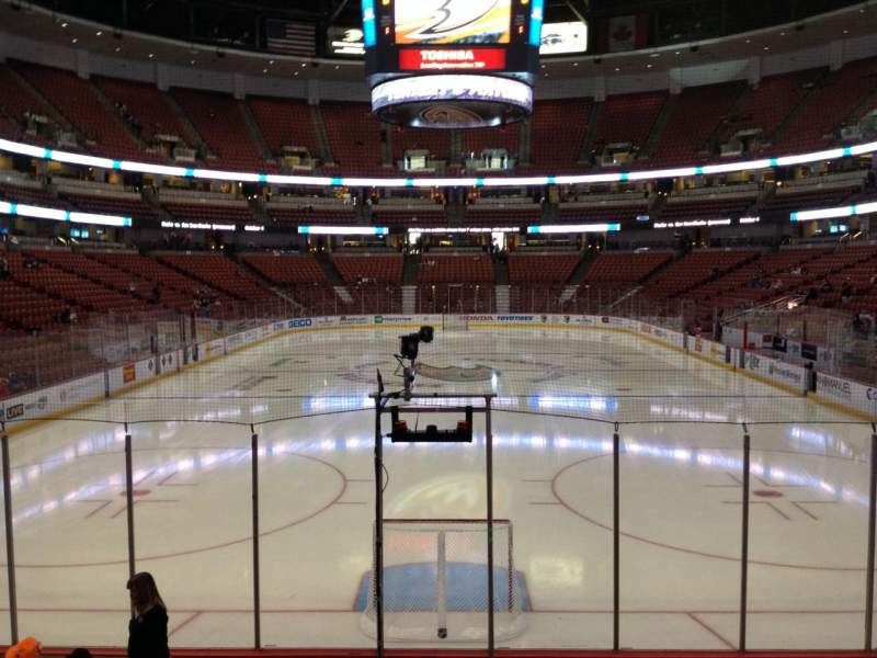 Honda Center, section: 215, row: K, seat: 7