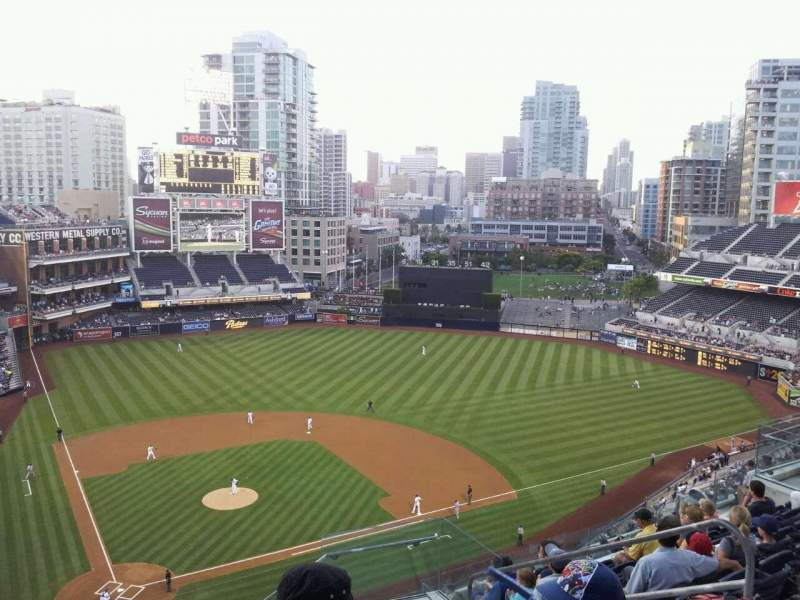 Seating view for PETCO Park Section 305 Row 17 Seat 16