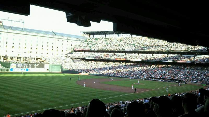 Seating view for Oriole Park at Camden Yards Section 67 Row 8 Seat 22