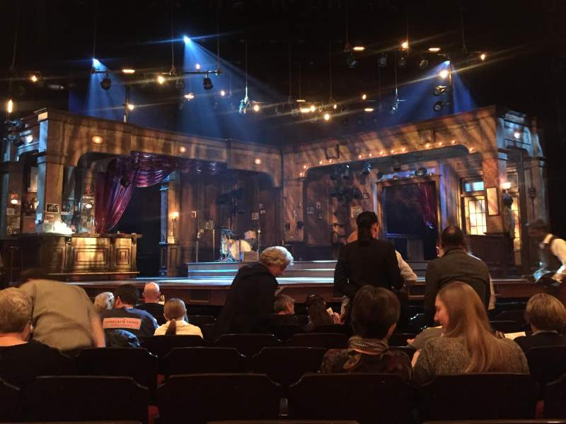 Seating view for Bernard B. Jacobs Theatre Section Orchestra C Row H Seat 110