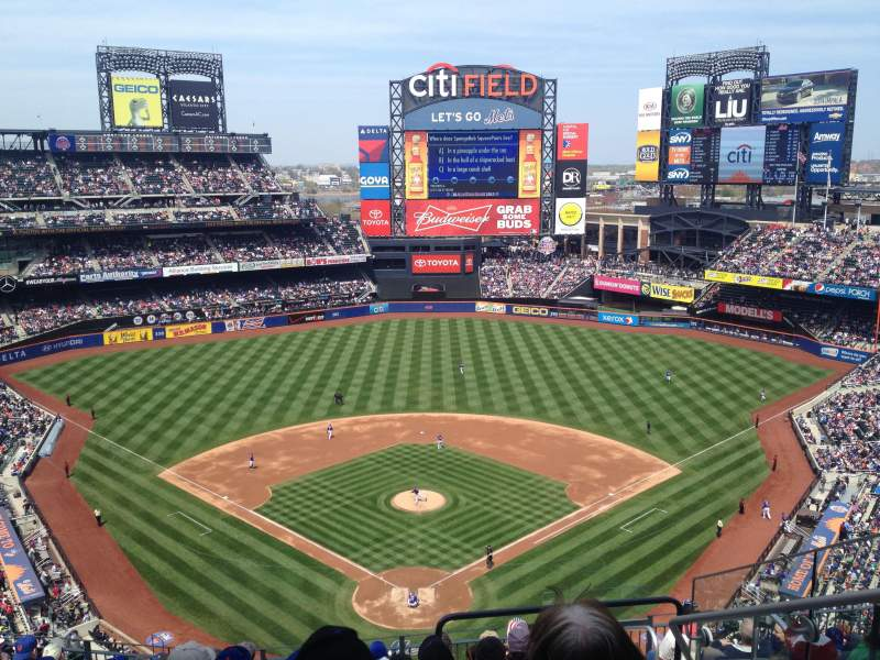 Seating view for Citi Field Section 514 Row 10 Seat 17