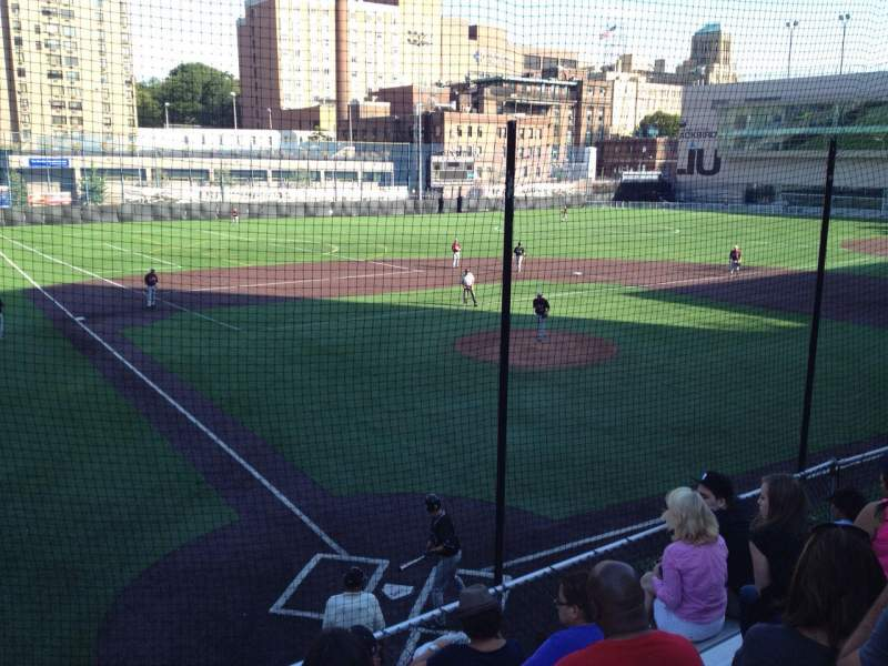 Seating view for Long Island University Field Section N/A Row N/A Seat N/A