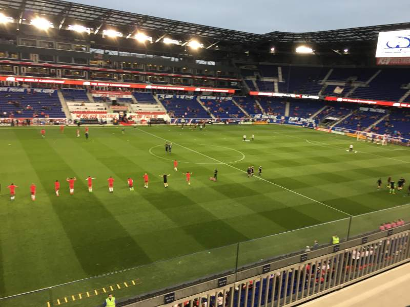 Seating view for Red Bull Arena (New Jersey) Section 228 Row 5 Seat 16