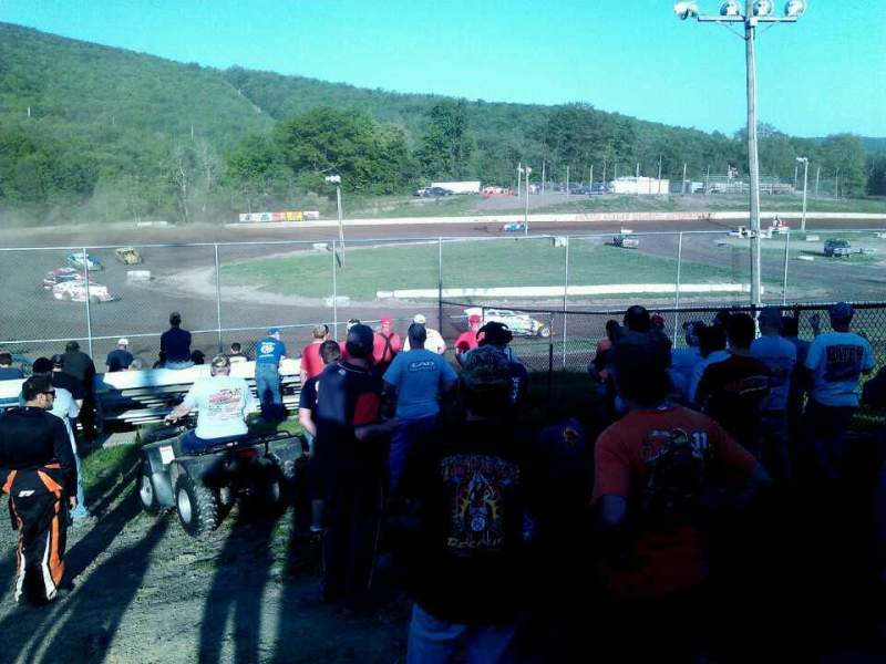 Seating view for Five Mile Point Speedway