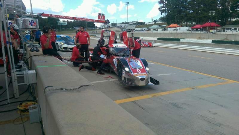 Seating view for Road Atlanta Section 1 Row 1 Seat 1