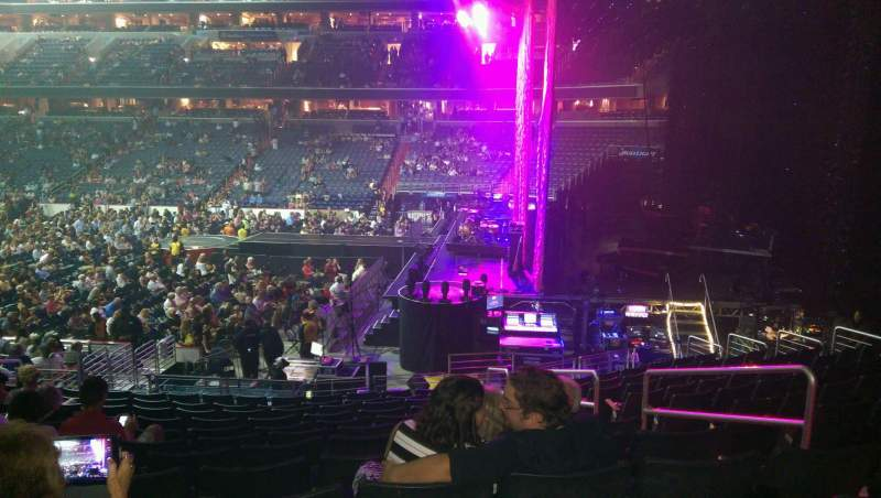 Seating view for Verizon Center Section 113 Row s Seat 14