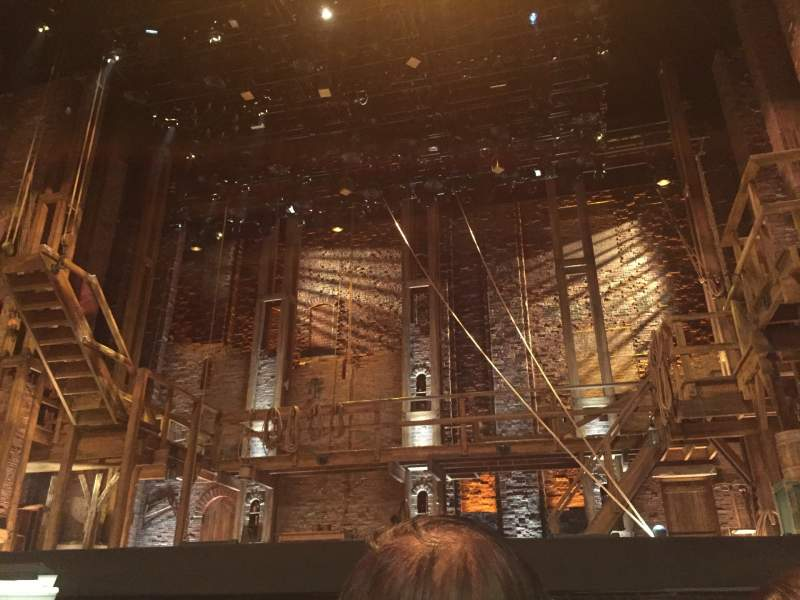 Seating view for Orpheum Theatre (San Francisco) Section Orchestra RC Row B Seat 110