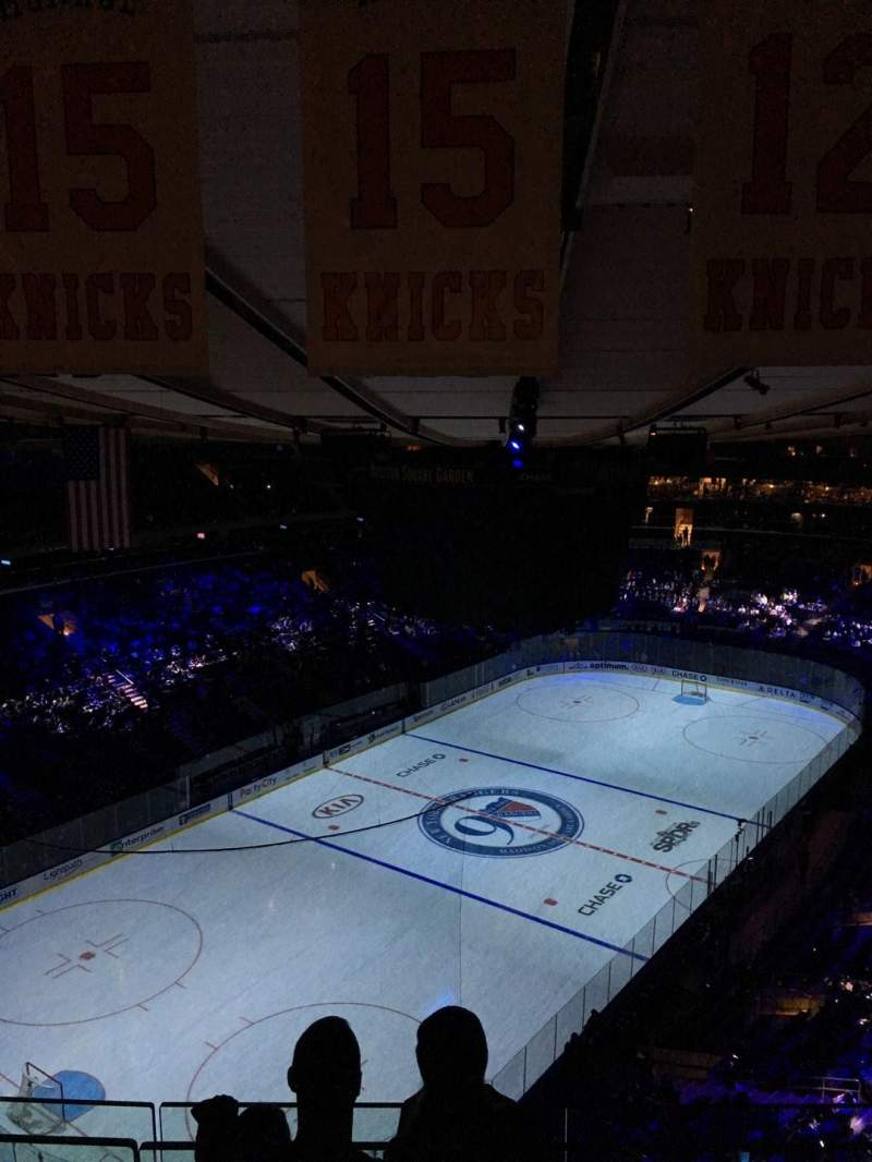 Seating view for Madison Square Garden Section 322 Row BS 3 Seat 17