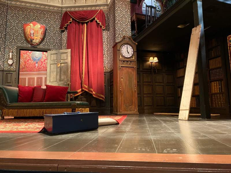 Seating view for New World Stages - Stage 4 Section Orchestra Center Row B Seat 108