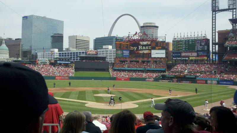 Seating view for Busch Stadium Section 151 Row 4 Seat 5