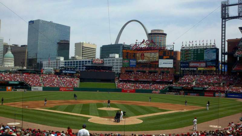 Seating view for Busch Stadium Section 151 Row 17 Seat 7