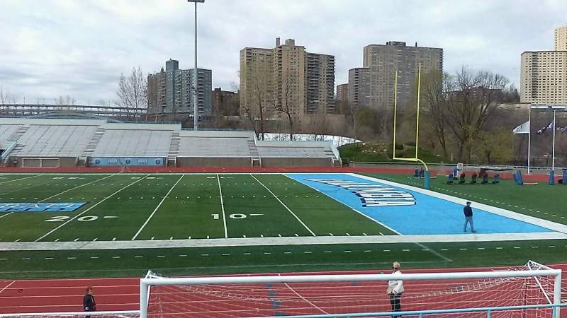 Seating view for Robert K. Kraft Field Section G Row L Seat 12