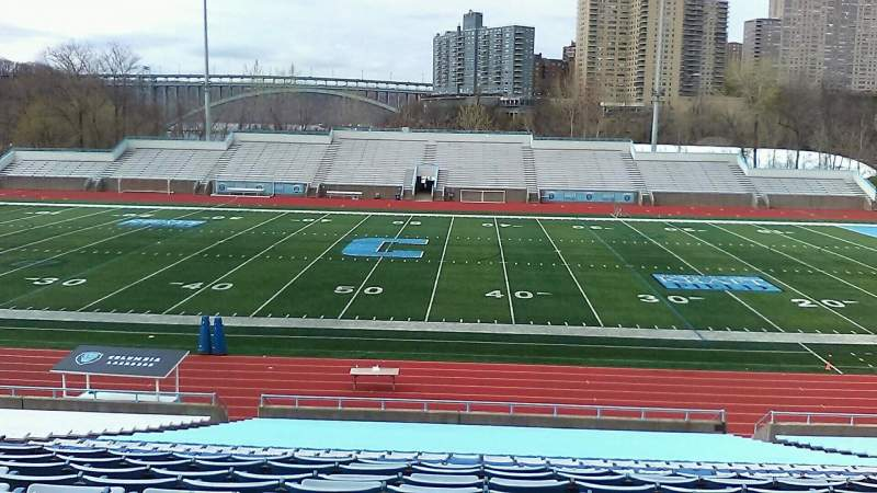 Seating view for Robert K. Kraft Field Section F Row EE Seat 12