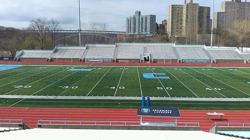 Seating view for Robert K. Kraft Field Section E Row Z Seat 13