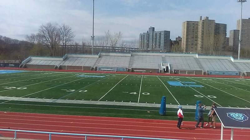 Seating view for Robert K. Kraft Field Section E Row K Seat 13