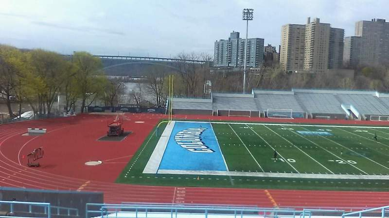 Seating view for Robert K. Kraft Field Section A Row KK Seat 12