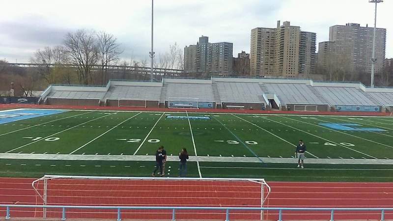Seating view for Robert K. Kraft Field Section C Row L Seat 12