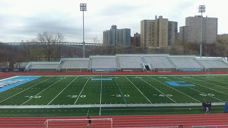 Seating view for Robert K. Kraft Field Section C Row Z Seat 12